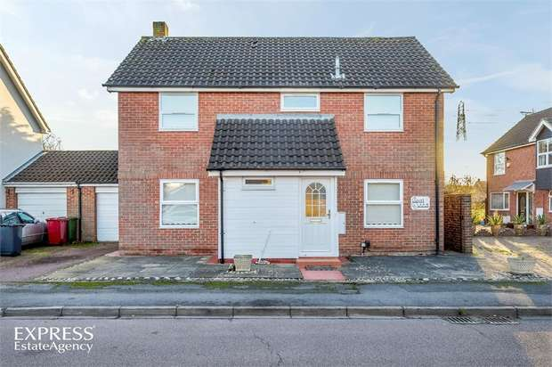 4 Bedrooms Detached House for sale in Rochfords Gardens, Slough, Berkshire