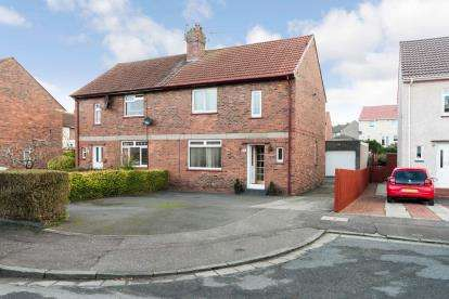 3 Bedrooms Semi Detached House for sale in Cunningham Crescent, Ayr