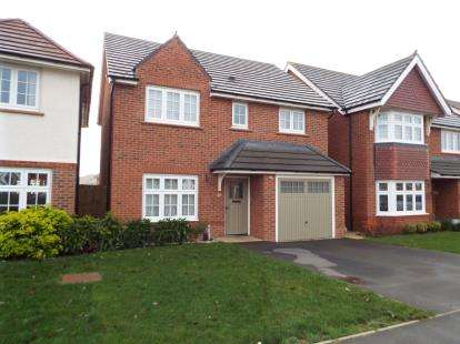 4 Bedrooms Detached House for sale in Laverton Road, Hamilton, Leicester, Leicestershire