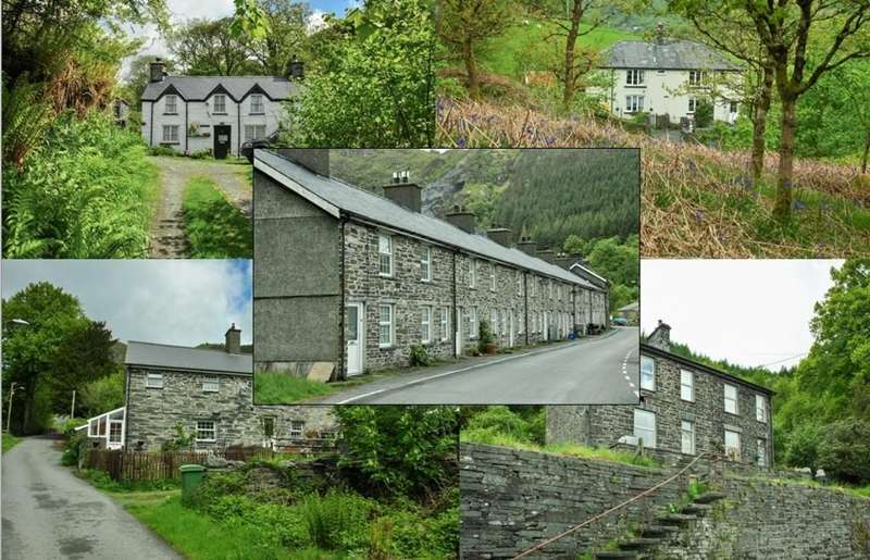 Detached House for sale in Aberllefenni, Machynlleth, North Wales