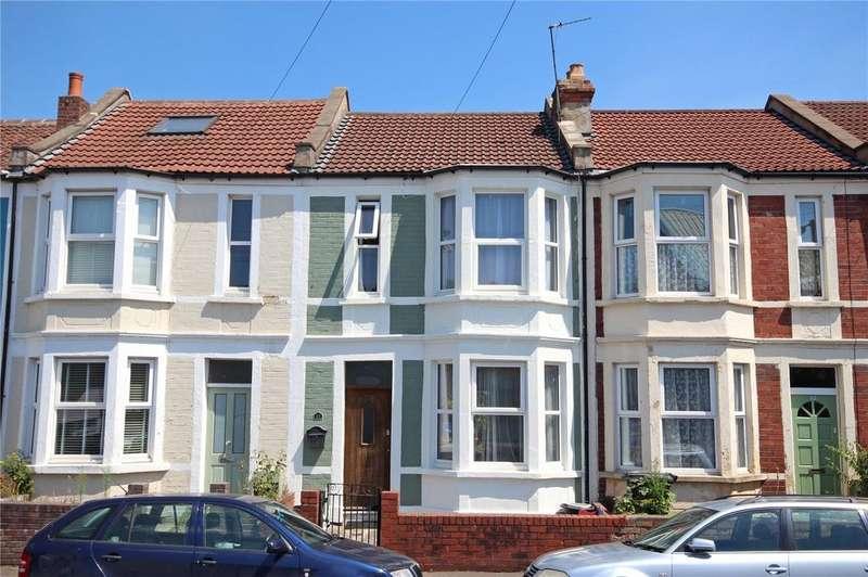2 Bedrooms Terraced House for sale in St. Werburghs Road, St. Werburghs, Bristol, BS2