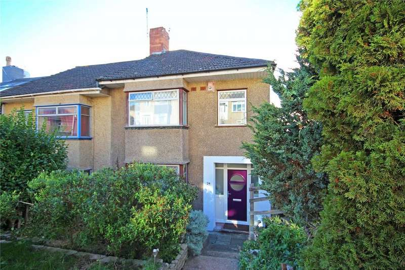 3 Bedrooms End Of Terrace House for sale in Elmcroft Crescent, Horfield, Bristol, BS7
