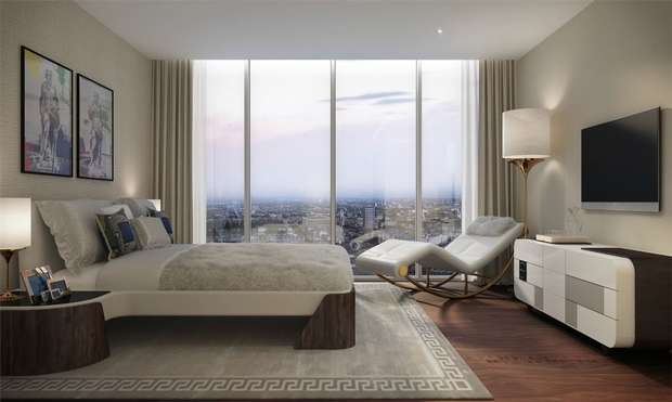 3 Bedrooms Flat for sale in Damac Tower, 71 Bondway, Nine Elms, London, SW8