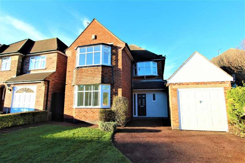 4 Bedrooms Detached House for sale in Charlecote Drive, Wollaton, Nottingham, NG8
