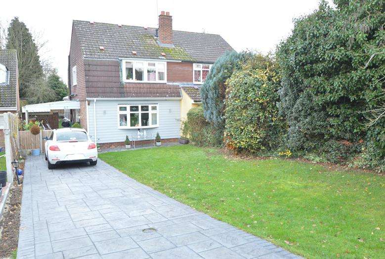 4 Bedrooms Semi Detached House for sale in Greenfields, Gosfield, Halstead CO9