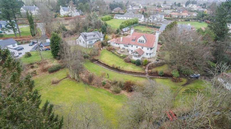 6 Bedrooms Detached Villa House for sale in Nether Knockbuckle, Hazelmere Road, Kilmacolm, PA13 4JW