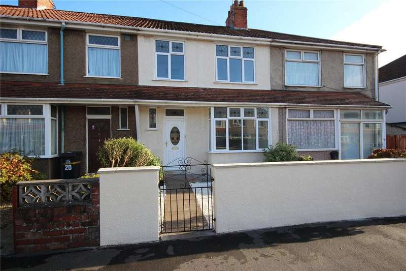 3 Bedrooms Terraced House for sale in Sandling Avenue, Horfield, Bristol, BS7