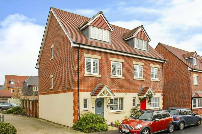 3 Bedrooms Semi Detached House for sale in Crane Road, Bracknell, Berkshire, RG12