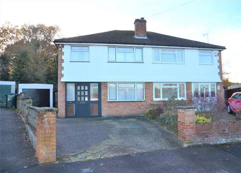 3 Bedrooms Semi Detached House for sale in Amblecote Road, Tilehurst, Reading, Berkshire, RG30