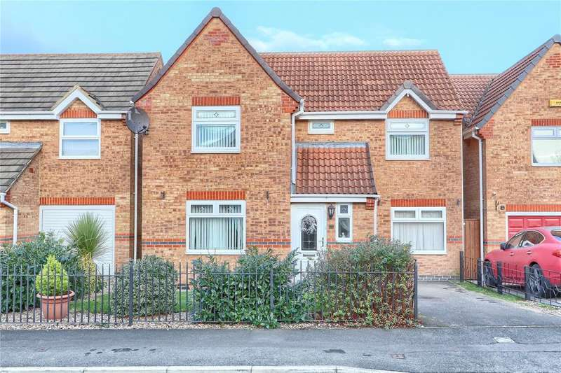 4 Bedrooms Detached House for sale in Blackthorn, Coulby Newham