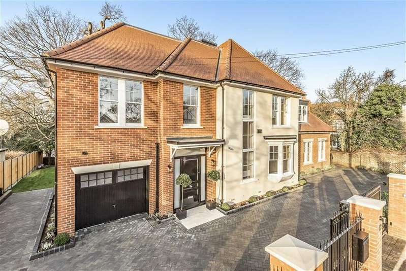 5 Bedrooms Detached House for sale in Denleigh Gardens, Winchmore Hill, London