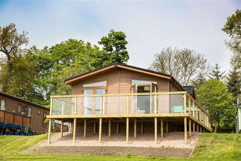 2 Bedrooms Chalet House for sale in 34, Letham Feus Park, Leven, Fife, KY8