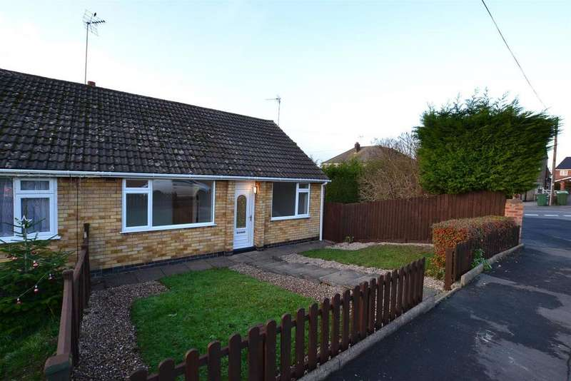 2 Bedrooms Semi Detached Bungalow for sale in Finsbury Avenue, Sileby, Leicestershire