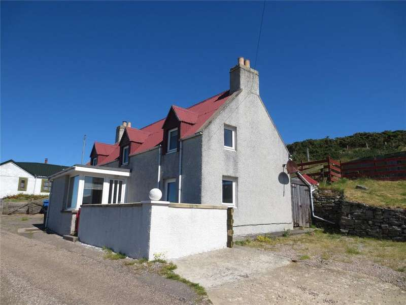 2 Bedrooms Detached House for sale in The Red House, 123 Strathy East, Nr Thurso, Highland, KW14