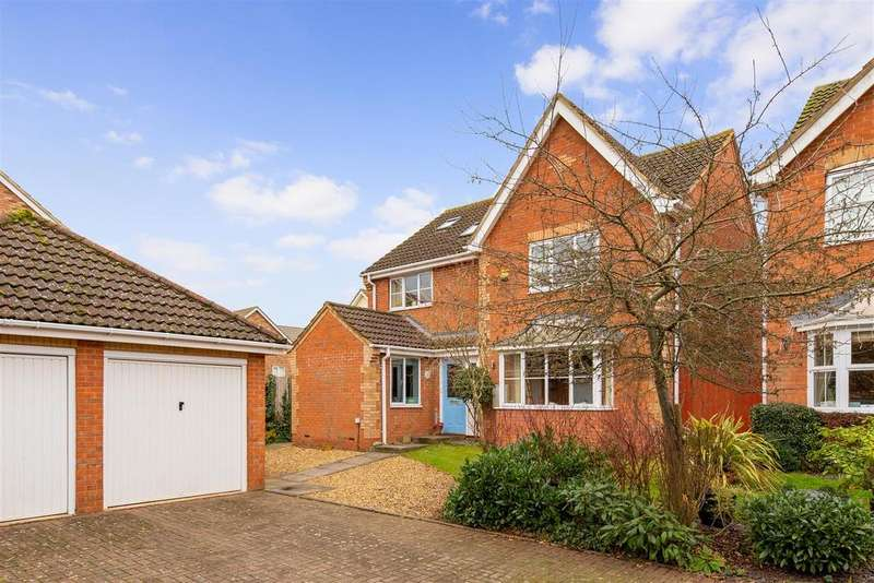 4 Bedrooms Detached House for sale in Priory Gate, Shefford