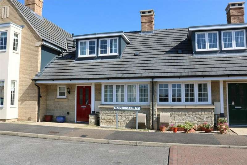 2 Bedrooms Terraced Bungalow for sale in Maple Gardens, BOURNE