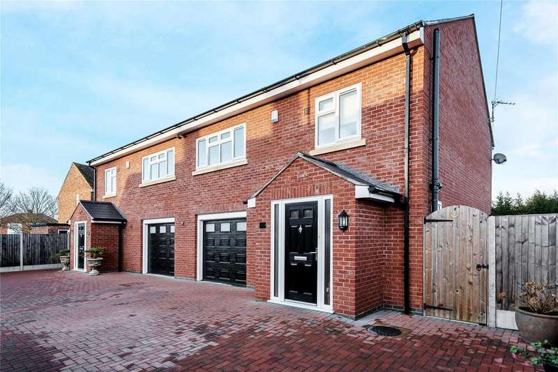 3 Bedrooms Semi Detached House for sale in Clive Avenue, Lincoln, LN6