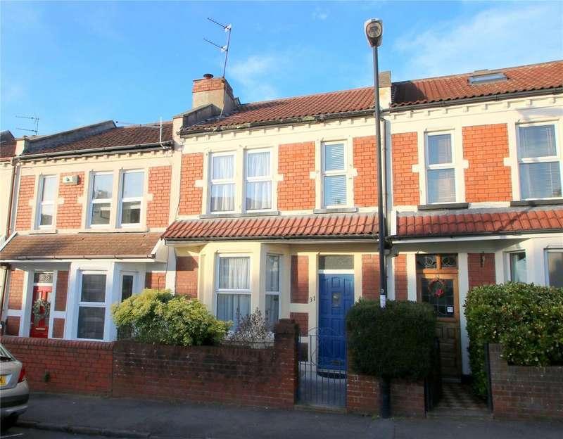 3 Bedrooms Terraced House for sale in Upper Sandhurst Road, Brislington, BRISTOL, BS4