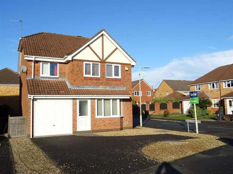 4 Bedrooms Detached House for sale in Botts Way, Coalville