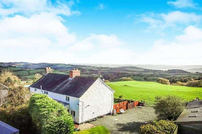 3 Bedrooms Detached House for sale in Llanfihangel, Llanfyllin, Nr Oswestry