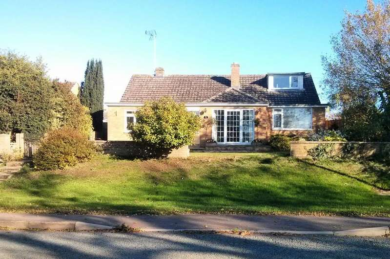 4 Bedrooms Detached Bungalow for sale in Stamford Road, Ryhall