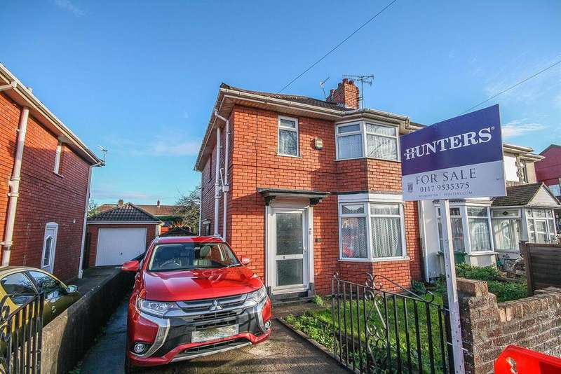 3 Bedrooms Semi Detached House for sale in Wedmore Vale, Bristol, Bedminster, BS3 5HQ