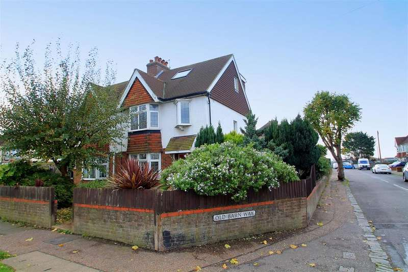 4 Bedrooms Semi Detached House for sale in Manor Hall Road, Southwick, Brighton