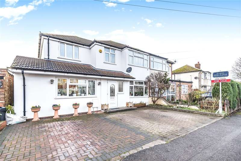 5 Bedrooms Semi Detached House for sale in Fairholme Crescent, Hayes, Middlesex, UB4