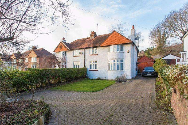 3 Bedrooms Semi Detached House for sale in Plomer Hill, High Wycombe