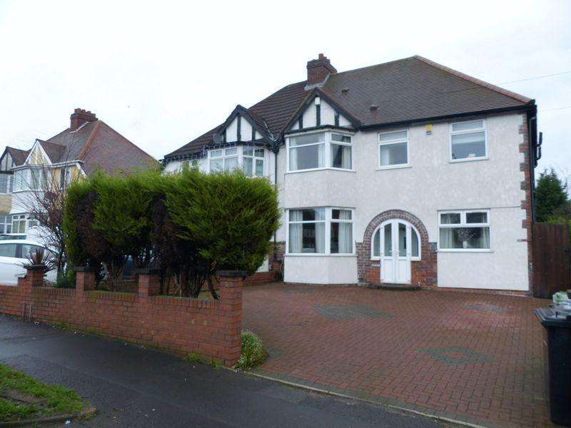 4 Bedrooms Semi Detached House for sale in Walsall Road, Perry Barr