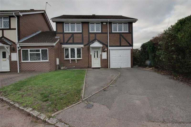 4 Bedrooms Link Detached House for sale in Merrifield Close, Lower Earley, Reading, Berkshire, RG6