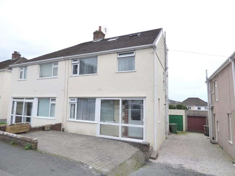 4 Bedrooms Semi Detached House for sale in Woodford Avenue, Plympton