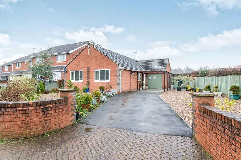 3 Bedrooms Detached Bungalow for sale in Heath Road, Heath, Chesterfield, S44