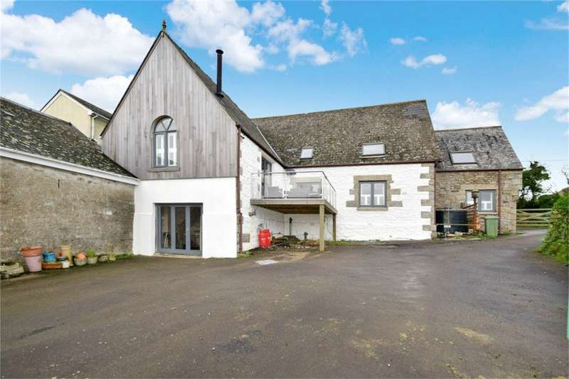 4 Bedrooms Semi Detached House for sale in Trenoweth, Mabe Burnthouse, Cornwall