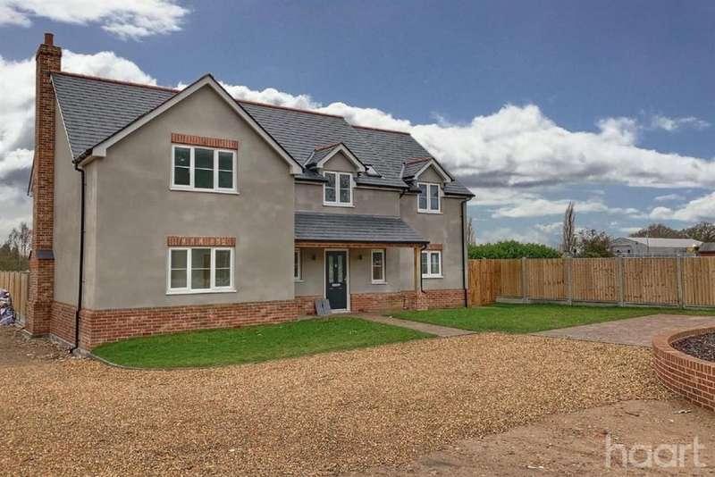 4 Bedrooms Detached House for sale in Heath Gardens, Heath Road, Essex