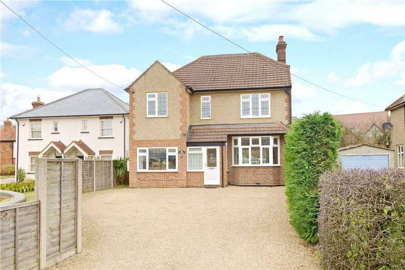 4 Bedrooms Detached House for sale in Woburn Road, Heath and Reach, Leighton Buzzard, Bedfordshire