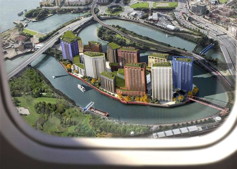4 Bedrooms Penthouse Flat for sale in Dawsonne House, London City Island, Canning Town, London, E14