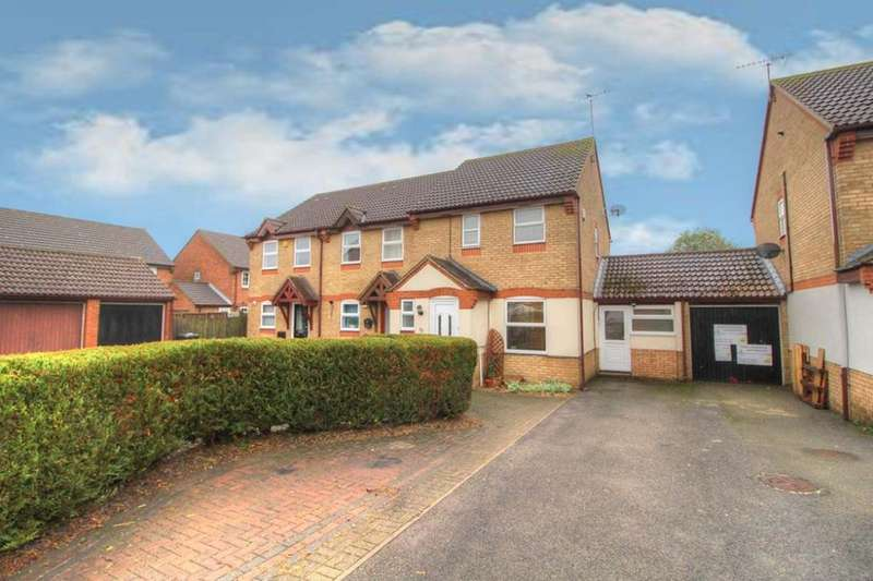 3 Bedrooms End Of Terrace House for sale in Gadsden Close, Cranfield, MK43