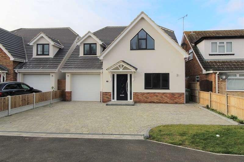 4 Bedrooms Detached House for sale in Fanton Walk, Wickford