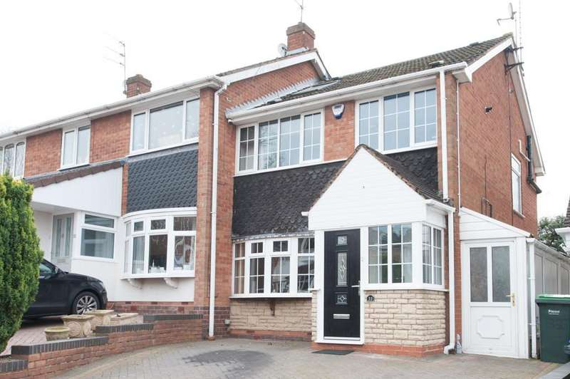 4 Bedrooms End Of Terrace House for sale in Ingestre Drive, Great Barr