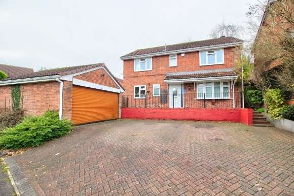 4 Bedrooms Detached House for sale in 22 Brierfield Way, Mickleover