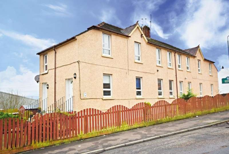 3 Bedrooms Apartment Flat for sale in Abbot Street, Maybole, South Ayrshire, KA19 7BQ