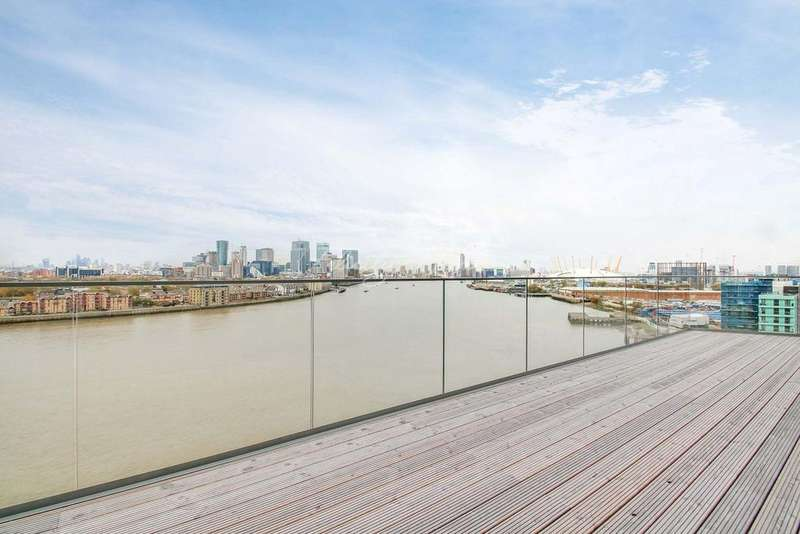 3 Bedrooms Flat for sale in Wyndham apartments, The River Gardens, SE10 0UA