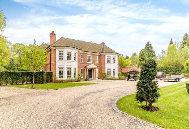 6 Bedrooms Detached House for sale in Westwood Road, Windlesham, Surrey, GU20