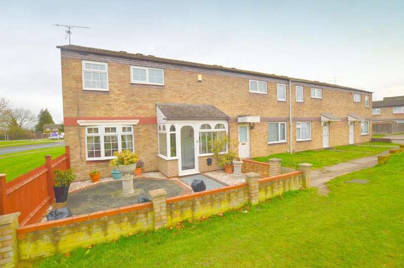 3 Bedrooms End Of Terrace House for sale in Trident Drive, Houghton Regis, LU5 5QQ
