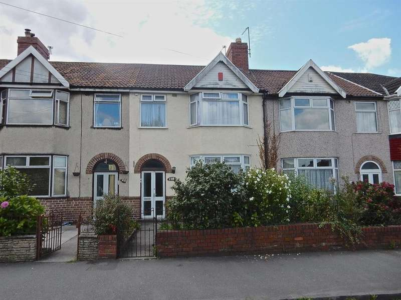 3 Bedrooms Terraced House for sale in Fishponds, Bristol BS16 3QS
