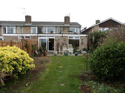3 Bedrooms End Of Terrace House for sale in Riverside Gardens, Langford, Biggleswade, Bedfordshire