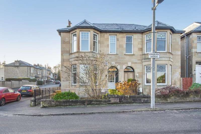 3 Bedrooms Semi Detached House for sale in 15 Kirkburn Avenue, Cambuslang, G72 8NS