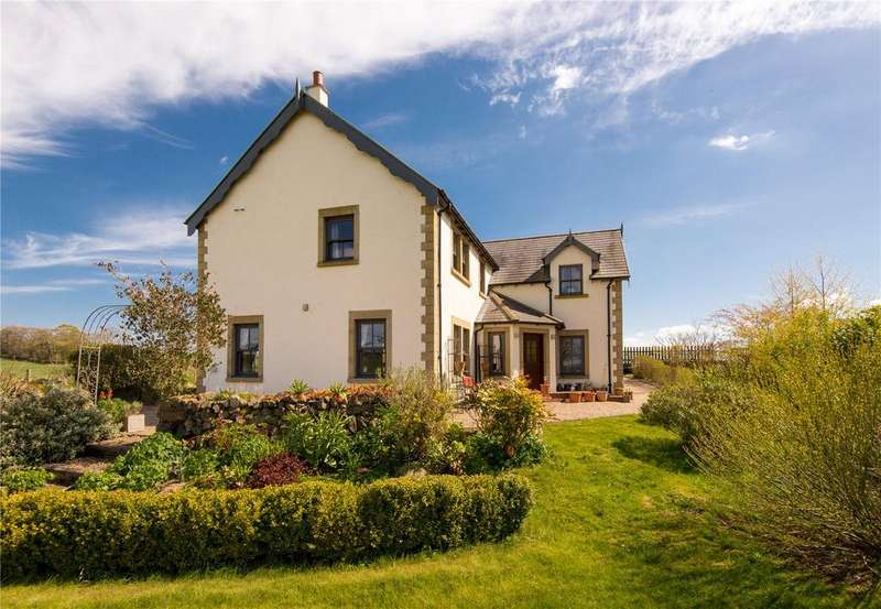 4 Bedrooms Detached House for sale in Brae House, Edington Hill, Nr Chirnside, Berwickshire