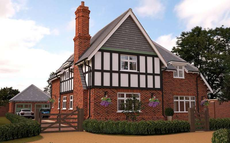 4 Bedrooms Detached House for sale in Sandiway, 1 Petwood Oaks, Woodhall Spa, LN10